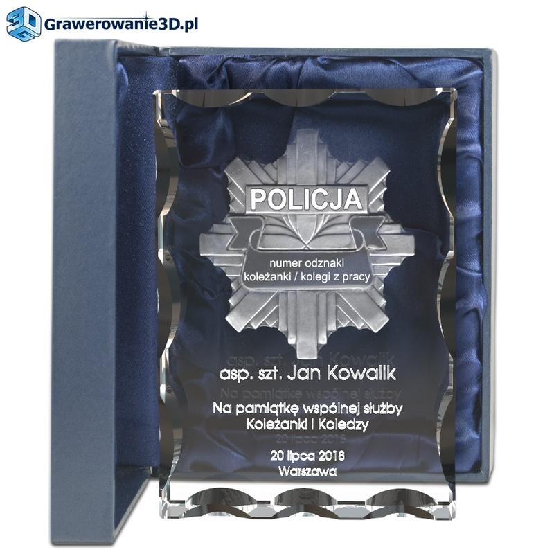 prezent dla policjanta policjantki