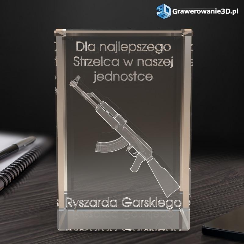 karabin 3D prezent dla żołnierza