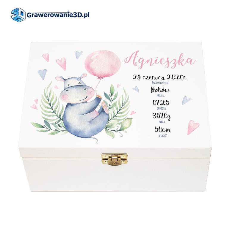 personalizowane pudełko dla dziecka