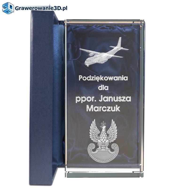 prezent dla pilota jako podziękowanie za służbę wojskową, statuetka dla wojskowego