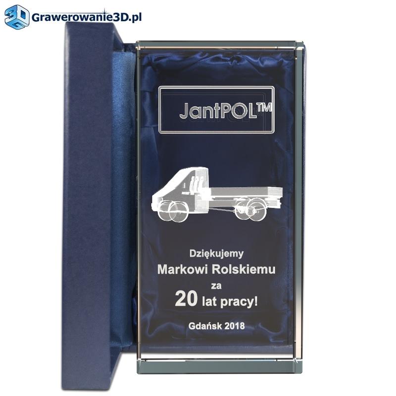 statuetka na jubileusz pracy dla kierowcy