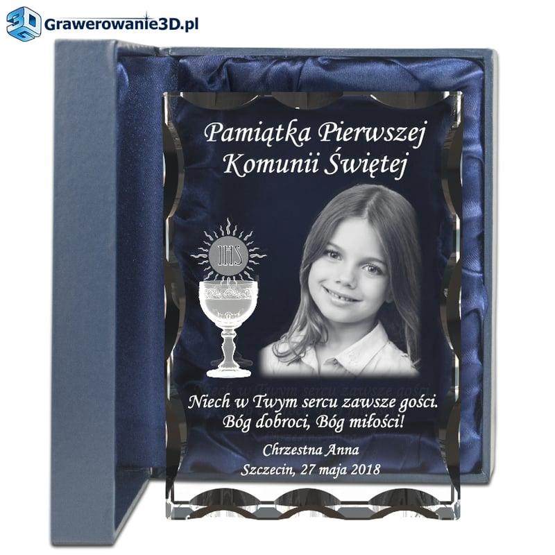 Piękny prezent na komunię dla dziewczynki, prezent od chrzestnej bądź od chrzestnego jako prezent komunijny