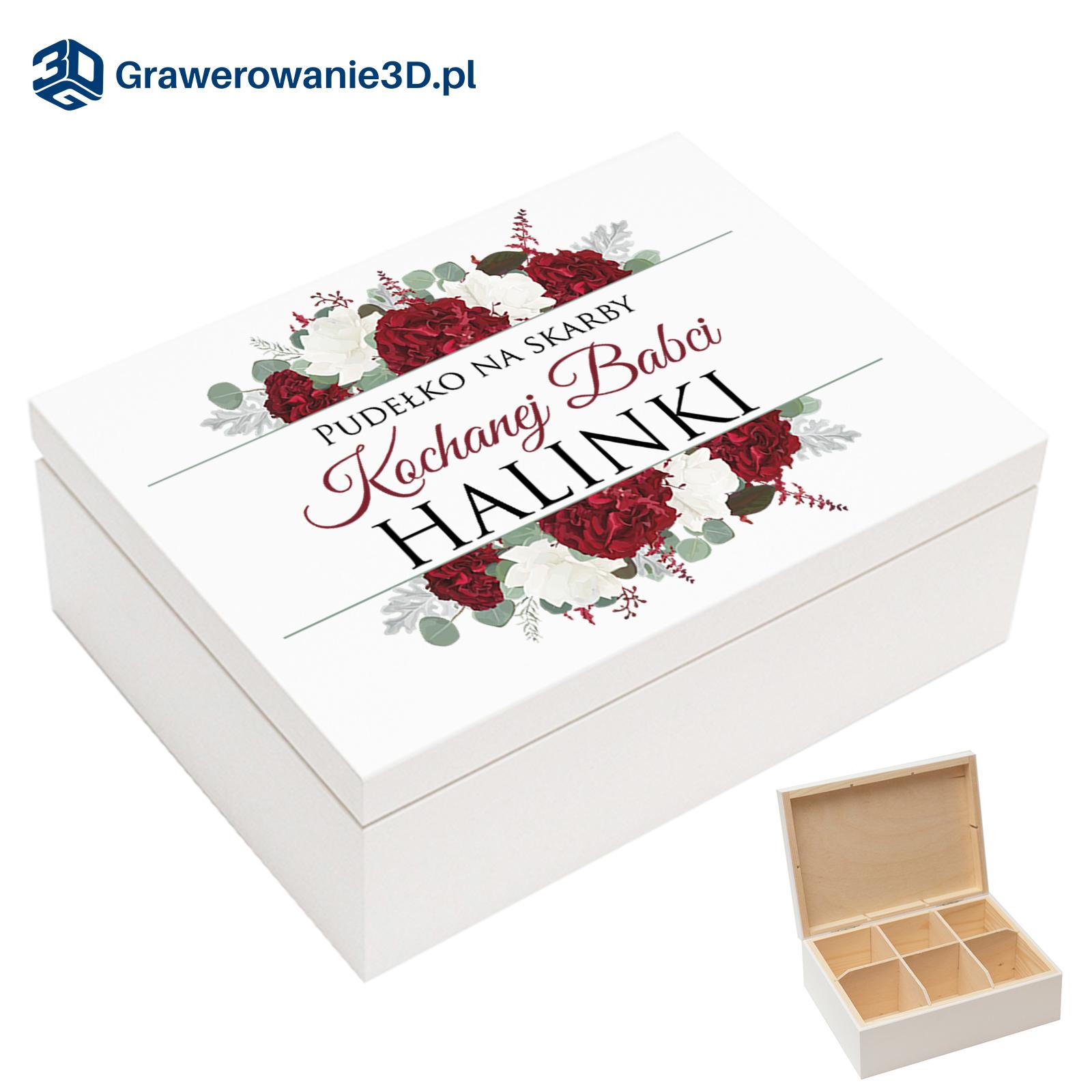 pudełko dla kochanej babci